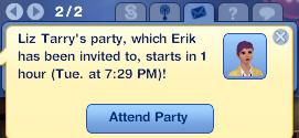 Liz's party