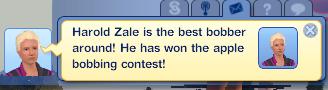 Harold won!