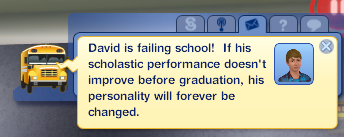 failing david