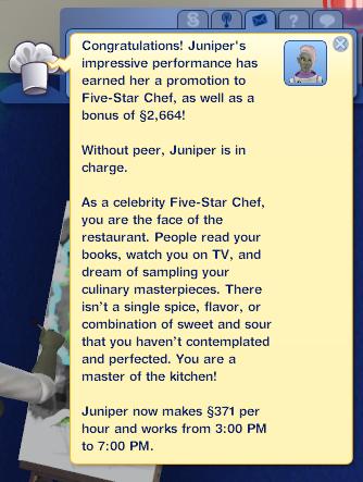 Alright Juniper!