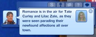 Lilac starts a romance