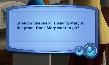 Mary gets a date