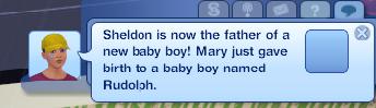 baby boy rudolph