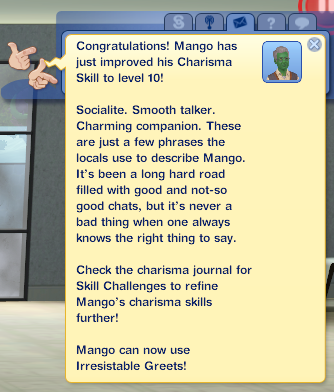 Mango Masters Charisma!